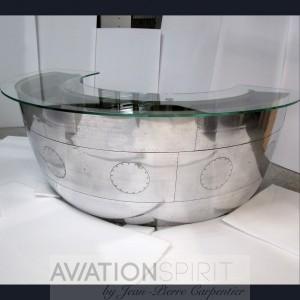 bar design entrée réacteur dc10 - aviation spirit jean-pierre ... - Createur De Meuble Design