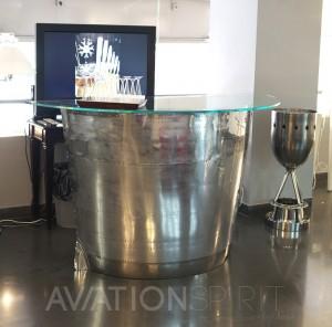Bar aeronautique design aviation spirit jean pierre carpentier cr ateur de meubles avions et d for Meuble bar moderne design